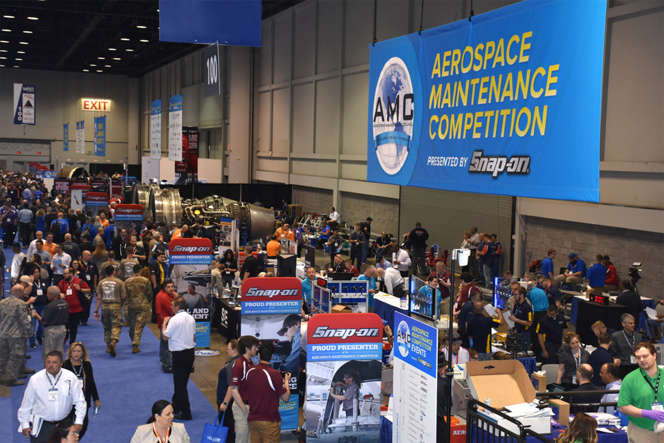 LARGEST-EVER FIELD OF AVIATION TECHNICIAN TEAMS SQUARE OFF