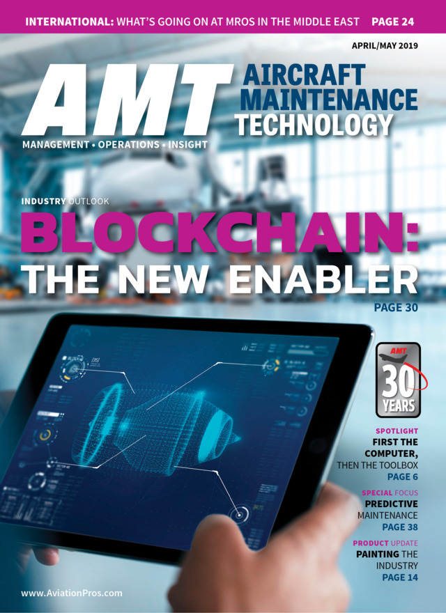 Aircraft Maintenance Technology April/May 2019 | www