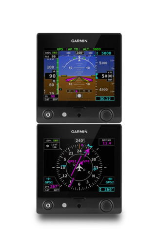 Garmin TeamX Brings New Features to the G5 Electronic Flight Instrument and the G3X Touch Flight Display