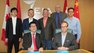 EIA to be North American Entry for Chinese Company