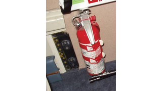 A Primer on Fire Extinguishers