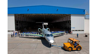 Embraer Rolls Out Legacy 500 Executive Jet