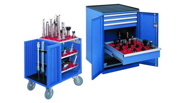 CNC tool storage cabinets