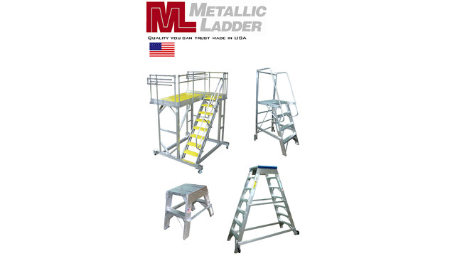 Ladders and maintenance stands