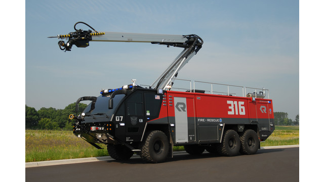 Stinger High Reach Extendable Turret