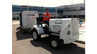 WestJet Introduces Electric Baggage Tug From Corvus