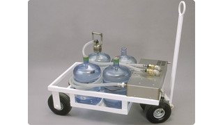 Bottled Water Cart