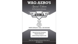 Wag-Aero Offers Special Edition Aeronca Catalog