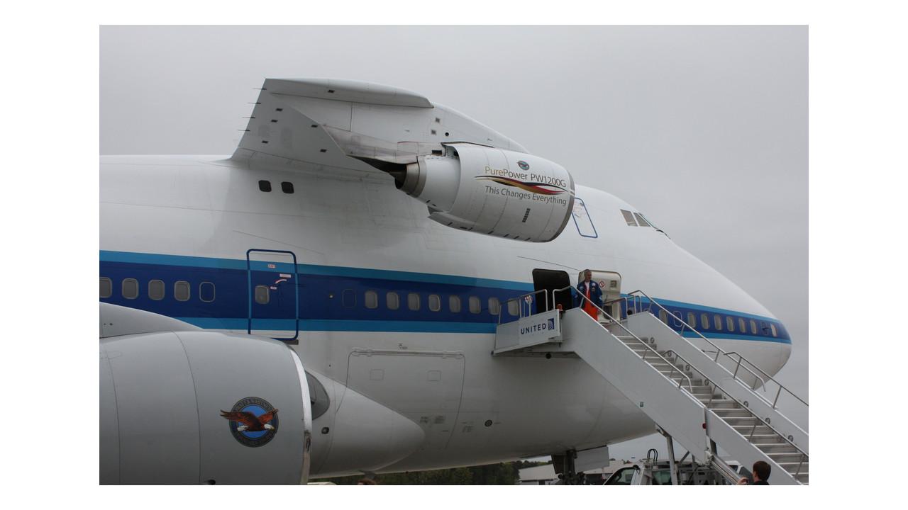 Pratt Amp Whitney S Flying Test Bed Aviationpros Com