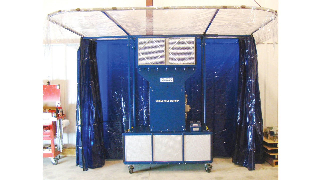 Mobile Weld Station Portable Welding Booth