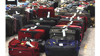 Baggage Handlers On Strike At Stansted Airport