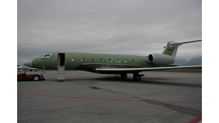 Gulfstream G650 Makes European Debut at EBACE in Geneva