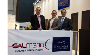GALMENA and ExecuJet Middle East Sign Service Agreement