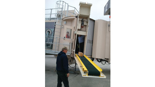 Conveyor Baggage Transfer System