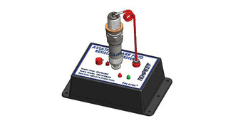 Spark plug resistance testers