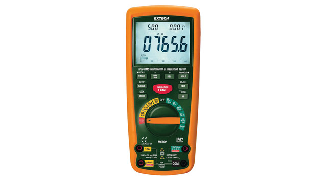 Insulation tester and multimeter
