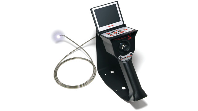 Joystick-controlled borescope