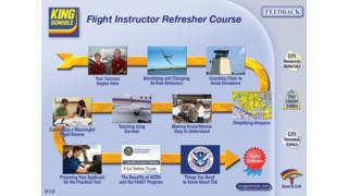 King Schools Releases Landmark Online FIRC for Flight Instructor Renewals