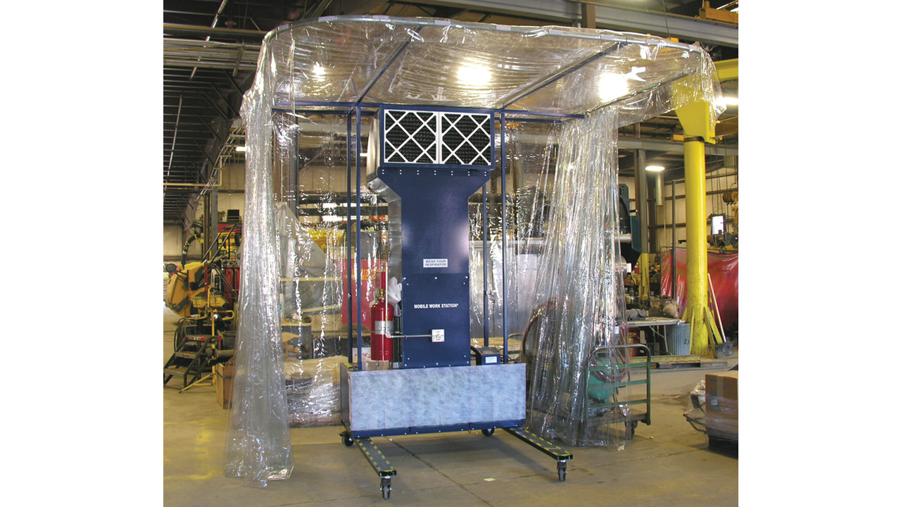 Portable Paint Booth >> Portable Prep Station | AviationPros.com