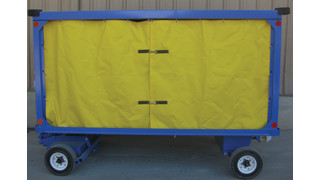 Baggage Cart Curtains