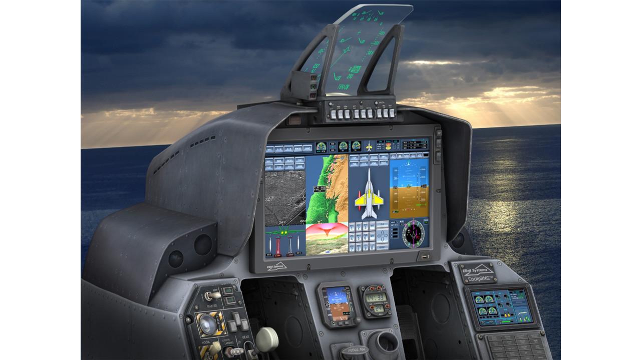 Elbit Systems Displays At Farnborough 2012 New