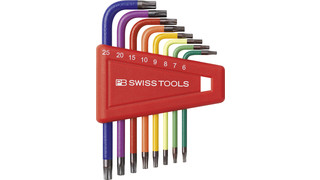 Count On Introduces PB Swiss Tools' Rainbow Torx® Key L-Wrenches