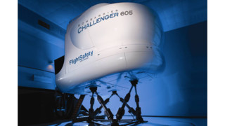FlightSafety's First Challenger 605 Simulator Receives EASA and FAA Level D Qualification
