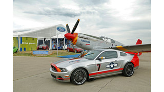 "Ford ""Red Tails"" Edition Mustang Raises $370,000 to Support Youth and Aviation"