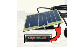 Solar Maintenance Chargers