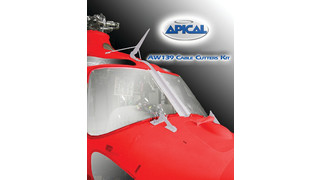 DART Helicopter Services Announces Brazilian Approval of Apical's Cable Cutters Kits for AB139 & AW139 Model Helicopters