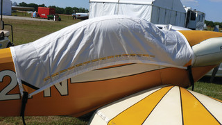 Bruce's Custom Covers Supports 'Friends Of The RV-1' With Remotely Designed Aircraft Covering System Donation