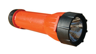 Halogen flashlight