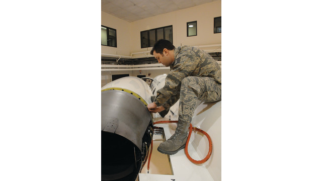 A New Experience: Military Learjet Maintenance