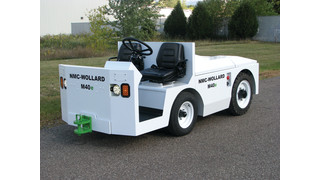 Corvus, NMC-Wollard Launch First Lithium Battery-Powered Tow Tractor