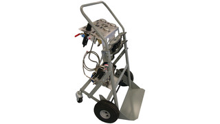 Oxygen/Nitrogen Booster Hand Cart