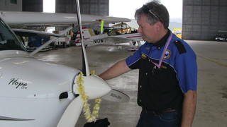 Combs Completes Fifty State Journey in a Light Sport Aircraft