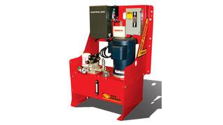 Schweiss Doors Develops New 'Red Power' Hydraulic Pump