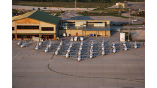 Eclipse At The Branson Airport
