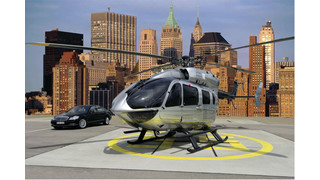Eurocopter's Mercedes-Benz Style EC145 Set to Make U.S. Debut