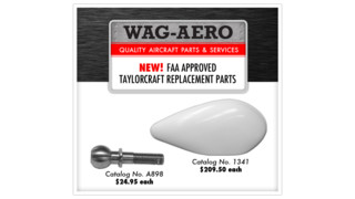NEW! FAA Approved Taylorcraft Replacement Parts From Wag-Aero