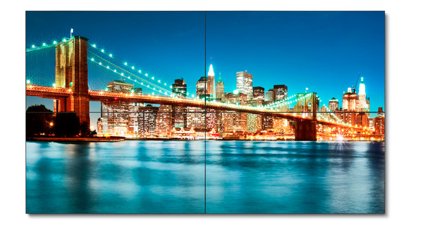 NEC's Ultra-Narrow Displays for Video Walls