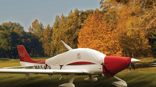 Bruce's Custom Fitted Covers Enhance The Joy of Fall Flying