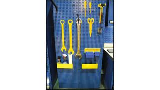 Tool panel system