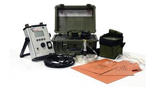 Portable composite curing controller