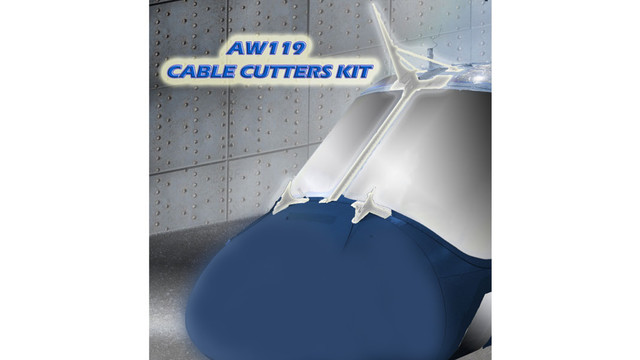 DART Helicopter Services Announces Brazilian Approval of its Cable Cutters Kit for A119/AW119MKII Model Helicopters