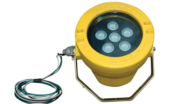 Portable infrared LED light