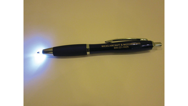 New AVIATOR LIGHT PEN Sheds Light Where You Need It