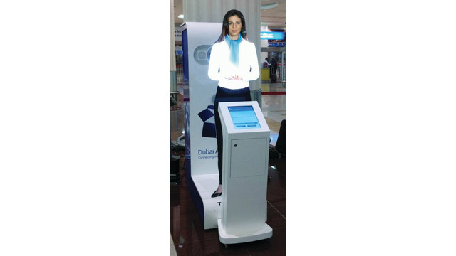 Tensator Launches First Interactive Virtual Assistant at Dubai International Airport with Touchscreen Integration