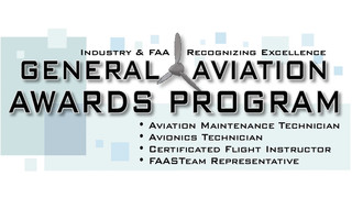 2013 Regional General Aviation Awards Winners Named