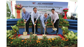 Jet Aviation Singapore triples maintenance hangar size in Singapore's Seletar Aerospace Park
